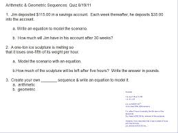 Linear Sequences Worksheet Sequences U2013 Room 148 Pam Wilson