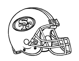 green bay packer coloring pages football helmet san francisco 49ers coloring page for kids kids