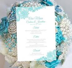 lace doily mint rustic printable menu card template instant