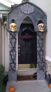 halloween home decoration ideas awful exterior halloween celebration design display terrible