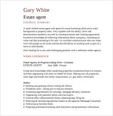 Sample Resume For Real Estate Agent by Sample Real Estate Resume 14 Download Free Documents In Pdf Word