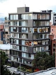 Best Modern Building Images On Pinterest Modern Buildings - Apartment facade design