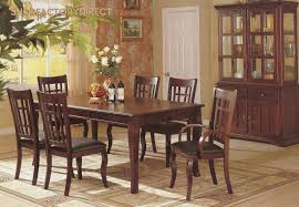 Cherry Dining Room Bench A Fantastic Solid Brown Cherry Dining Room Table With