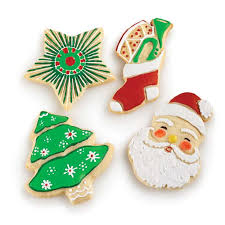holiday cookie cutters set of 4