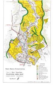 Marin Map San Anselmo General Plans Tamalpais Magazine