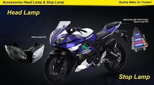 Led R15 For Yamaha R15 Motorcycle Modified Led Lights Manufacturer