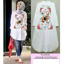 Baju Muslim Wanita baju muslim terbaru vintage top grosir baju muslim pakaian wanita