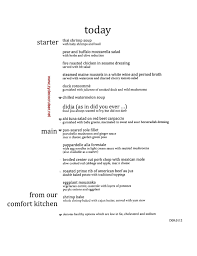 House Cleaning Resume Sample by Dinner Menus Food Pictures Days 1 6 September 2013