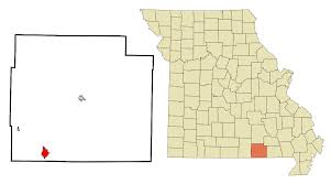 Oregon County Map With Cities by Thayer Missouri Wikipedia