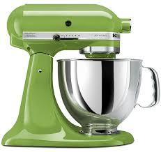 volt kitchenaid 5ksm150psega artisan stand mixer green apple