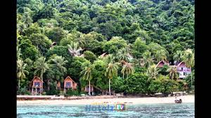 rantee cliff beach resort hotel phi phi don thailand youtube