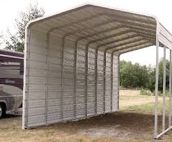 metal rv shelter bradley mighty steel rv garage for rv shelter