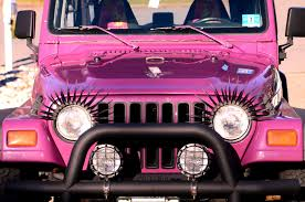 jeep rubicon 2017 pink oooh my i need a pink jeep with eyelashes princess jeep