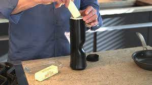 lazareth lm 847 the biem butter sprayer turns a hard stick of butter into