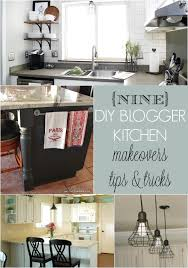 Diy Kitchen Makeovers - 9 diy blogger kitchen makeovers home stories a to z