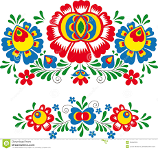 folk ornaments stock vector image of european national 50332358