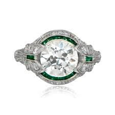 ring art deco engagement rings for women tiffany minnesotaart