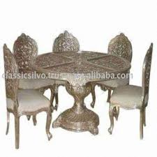 royal handicraft carved silver dining room set silver restaurant