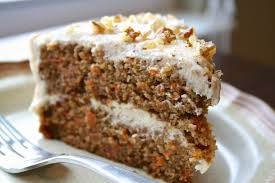 oregon transplant carrot cake with maple cream cheese frosting