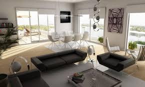 black and white condo interior design brown teak wood ikea