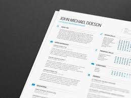 Resume Cover Letter Template Free Free Resume Cover Letter By Demorfoza Via Behance Vectors