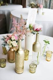 Wedding Table Decorations Home Design Glamorous Easy Homemade Centerpieces Mason Jar Table
