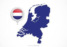 netherlands map flag free vector netherlands flag map pointer free vector
