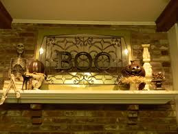 rustic maple halloween in the living room i love our now that ideas some amazing designs for halloween mantel decoration wondering how you will decorate your top home