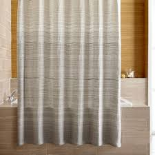 Shower Curtains Veres Grey Ombre Shower Curtain In Shower Curtains Rings