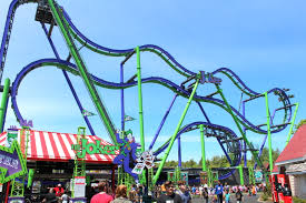 Six Flags Rollercoaster Review Joker At Six Flags Great America Coaster101