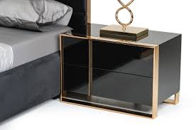 Modern Black Nightstands Modern Furniture Layout For The Bedroom And Living Rooms La