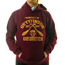 amazon com property of gryffindor quidditch team kids hooded