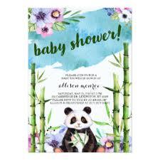 Panda Baby Shower Invitations - panda baby gifts on zazzle