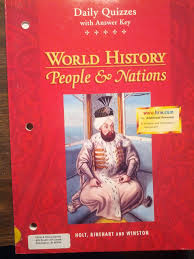 daily quizzes with answer key world history people u0026 nations
