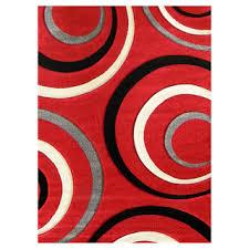 Modern Wool Rugs Sale Area Rugs On Sale Rectangle Grey Black White Ring Pattern
