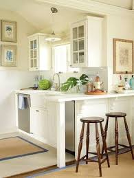 Small Kitchens Designs Pictures Kitchens That Maximize Small Footprints Glass Front Cabinets