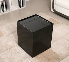 modern black end table modern end table with mini bar chicago furniture stores modern end