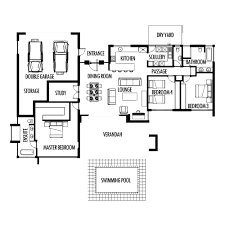3 bedroom floor plan 4 bedroom house plans with double garage south africa savae org