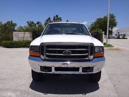 Ford Diesel Truck Used - 2001 ford super duty f 450 flatbed 7 3l diesel truck crew cab
