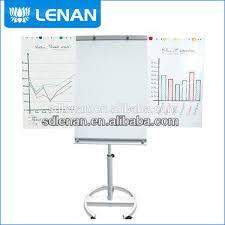 chevalet de bureau personnalisé bureau pas cher personnalisé mobile chevalet stand avec flip chart