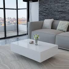 Wohnzimmertisch K N Couchtisch Wohnzimmer Tisch Beistelltisch Kaffeetisch Hochglanz