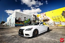 lexus wheels ls 460 white lexus ls 460 f sport riding high on 22