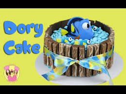 finding dory kit kat cake with m u0026ms and baby dory kids birthday