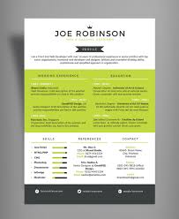 Resume Design Template Free Elegant U0026 Professional Resume Cv Design Template In 3