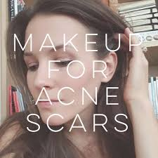 natural beauty how to apply makeup for acne scars peaceful dumpling