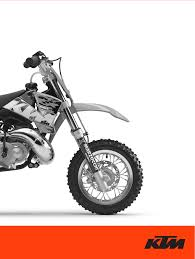 ktm motorcycle 50 sx junior user guide manualsonline com