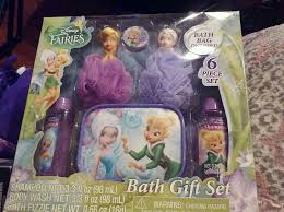 Tinkerbell Bathroom Set Barbie Tinkerbell Bath Gift Set Body Wash 2in1 Shampoo Body Mist