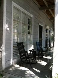 Cozy Front Porch Chairs On Outdoor Outside Wooden Rocking Chairs Brown Outdoor Rocking