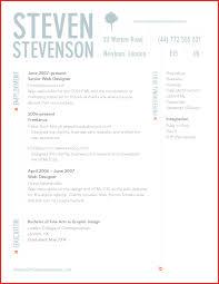unique cv template word resume pdf