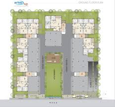 Icon Condo Floor Plan by Arise Icon By Arise Group In Ognaj Ahmedabad Price Location